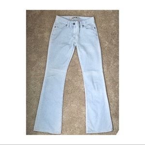 Palest powder blue GAP corduroy pants